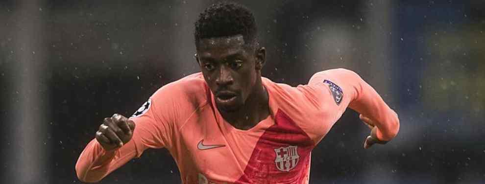 El fichaje 'low cost' del Barça para sustituir a Dembélé es un bombazo al Real Madrid