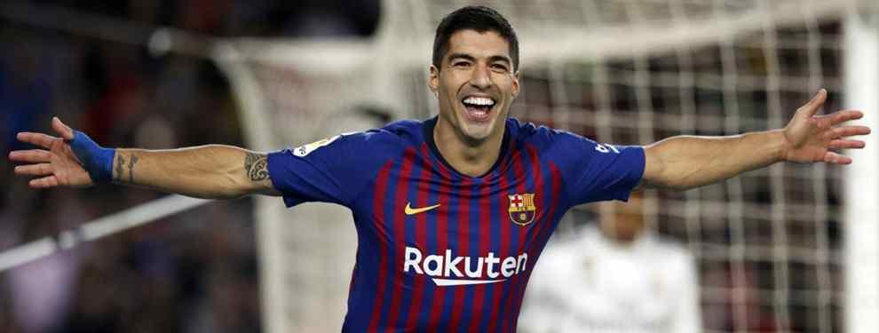 Luis Suárez da luz verde: el nuevo delantero centro del Barça (y ya negocian)