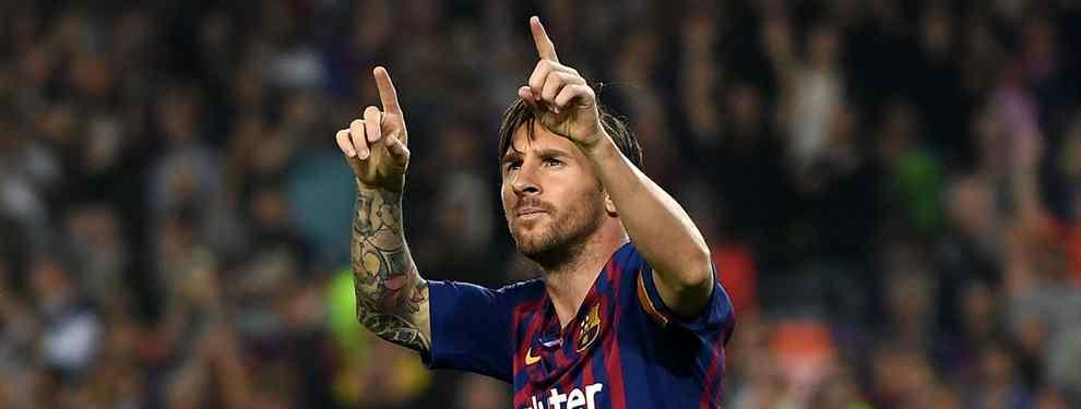 Leo Messi no levanta el pie. El capitán del Barça tiene un ojo puesto en la presente temporada y otro en la siguiente.  Leo, avisan, confiesa a los suyos que su objetivo es sumar un triplete de Champions antes de colgar las botas