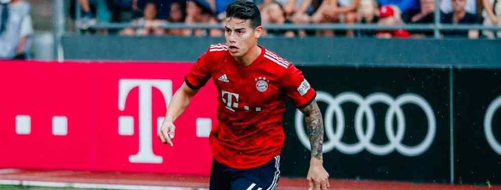 El futuro de James Rodríguez es una incógnita. El colombiano, que no cuenta para Niko Kovac, es un futbolista cotizado en el mercado y tiene varios destinos donde elegir. Pero en el Bayern de Múnich no seguirá.