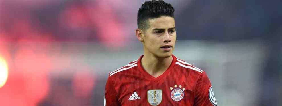 La oferta de locura que saca a James Rodríguez del Bayern de Múnich (y no es para volver al Madrid)
