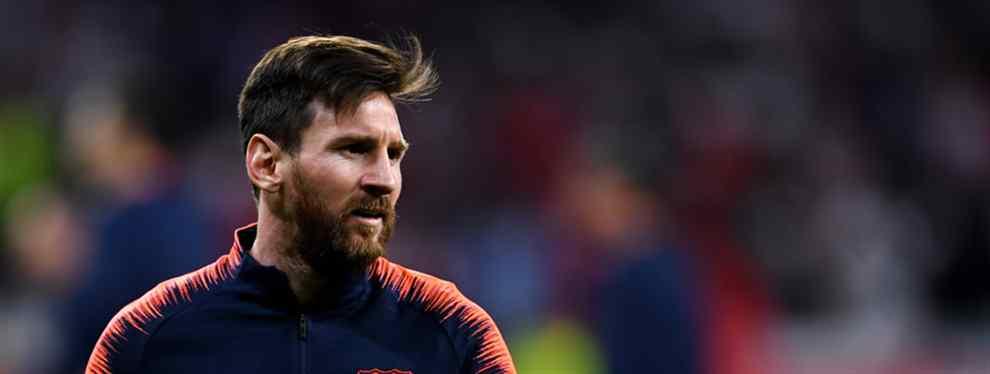 Leo Messi cierra un fichaje en sus vacaciones en Dubai (y se carga a un compañero)