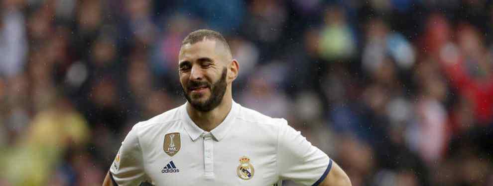 Solari se la juega a Benzema: el '9' que ha pedido para invierno está en la agenda del Barça