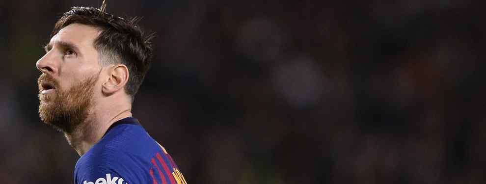 ¡Se larga a la Premier! Messi sabe quién es (y no espera ni a junio para dejar el Barça)