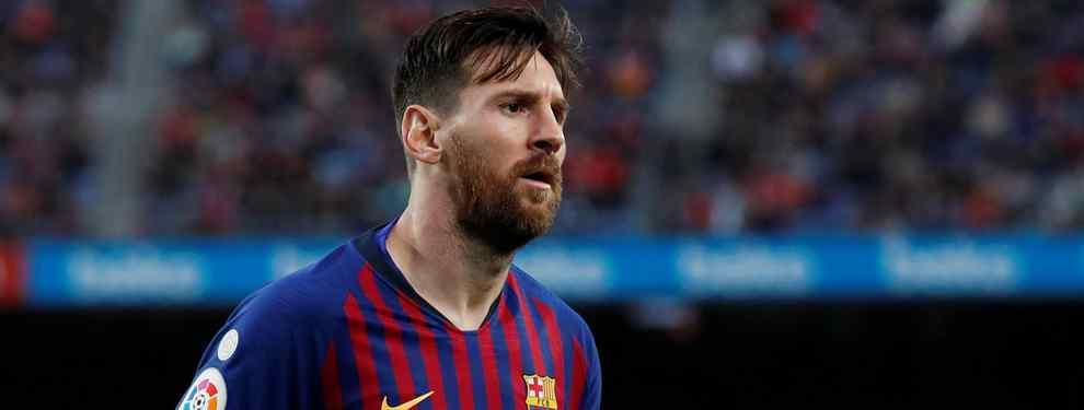 Cerrado: el Barça tiene el primer galáctico para Messi
