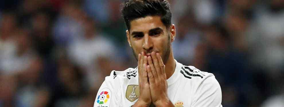 Las tres llamadas para sacar a Marco Asensio del Real Madrid: oferta en las últimas 24 horas