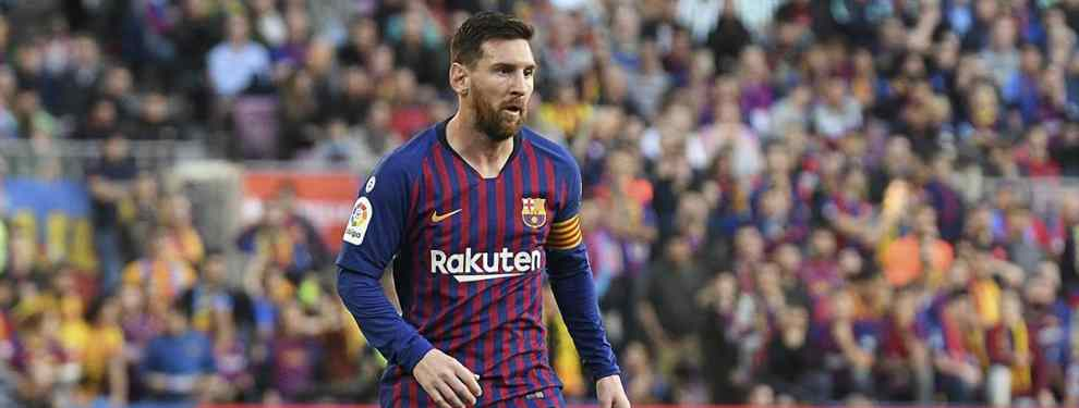 El Barça tiene una sorpresa para Messi. Tras conocerse que Frenkie de Jong lo tiene hecho con el Real Madrid, el cuadro azulgrana ha acelerado para traer otro galáctico al Camp Nou.