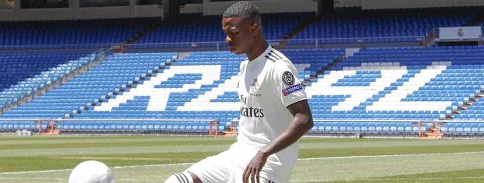 A la carga: Florentino Pérez se lanza a por el nuevo Vinicius para el Real Madrid