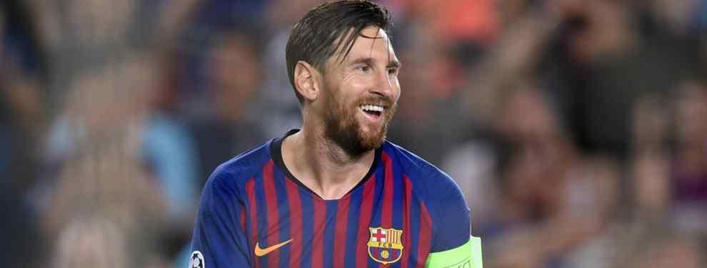 ¡No puede ser verdad! Messi estalla con un fichaje de risa para el Barça