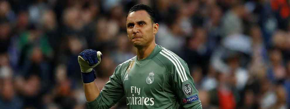 El 'top secret' de Keylor Navas con Florentino Pérez que arrasa en el Real Madrid