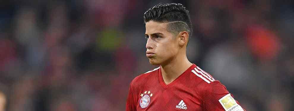 El colombiano ponía esta semana las cartas sobre la mesa de Jorge Mendes, amigo y agente, que trasladaba la voluntad del 'cafetero' a los capitostes del Bayern de Múnich.