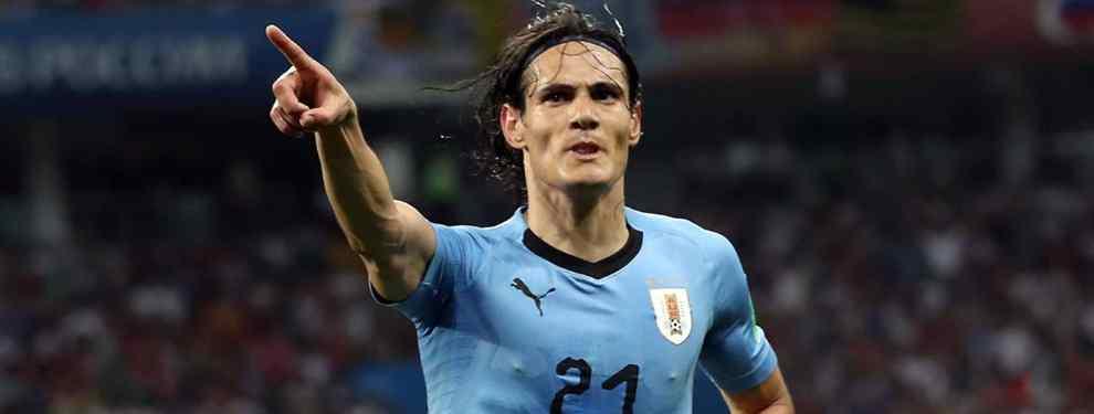 Los tres fichajes TOP que prepara el Nápoles para enero: Cavani, un crack del Barça y uno del Madrid