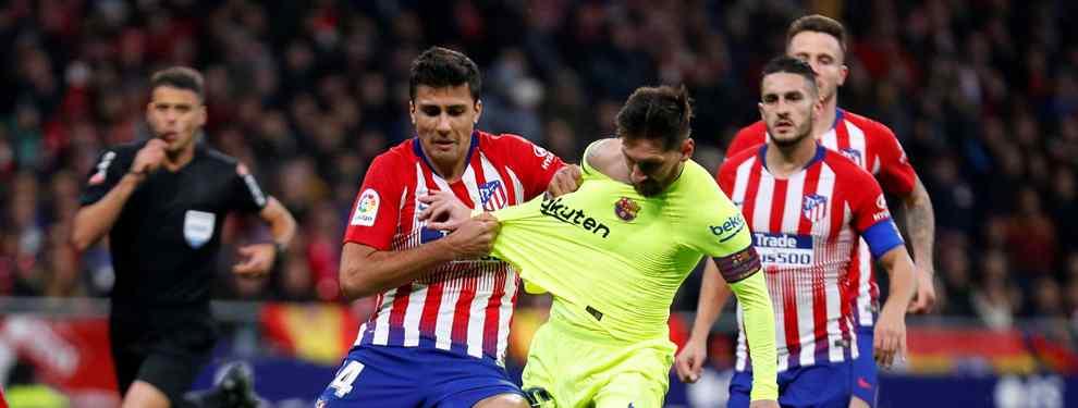 El jugador del Atlético que convenció a Valverde y Messi (No es Saúl Ñíguez y apunta a verano)