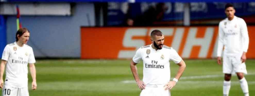 La derrota del Real Madrid en Eibar tiene consecuencias: fichajes en siete días