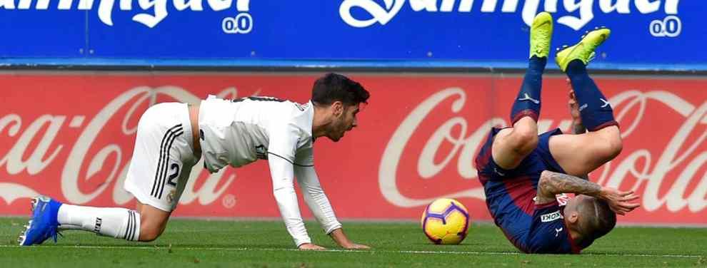 Marco Asensio entra en un trueque sorpresa (y de última hora) en el Real Madrid