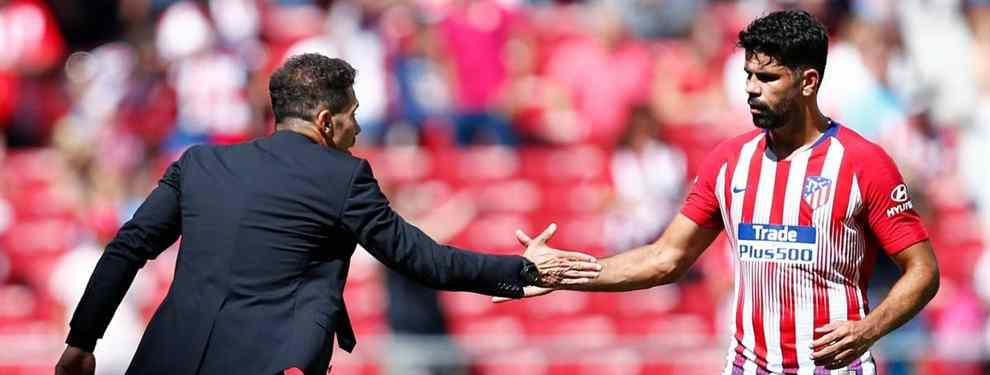 El Atlético negocia la marcha de Diego Costa (y Simeone ya tiene sustituto)