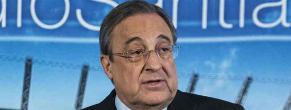 100 millones y al Real Madrid: Florentino Pérez sube la puja (y es por un delantero para enero)