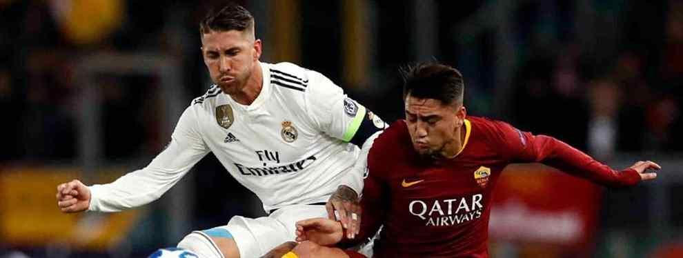 Bombazo en el Real Madrid: la estrella que saca los colores a Sergio Ramos (y a Solari)