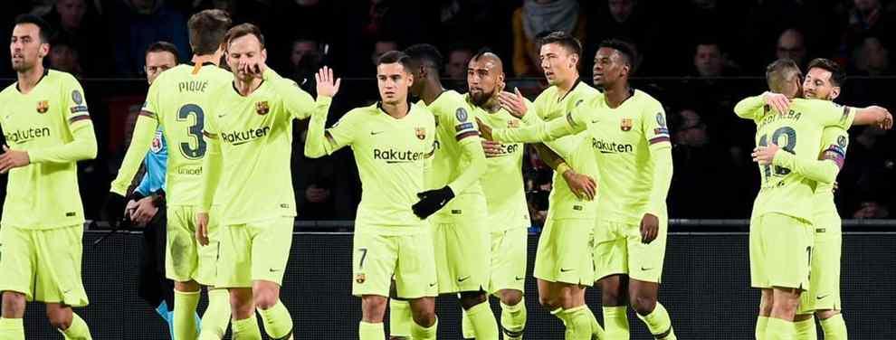 Horrible partido del Barça en Eindhoven. El conjunto azulgrana sufrió de lo lindo para llevarse los tres puntos ante un rival, el PSV, que mereció mucho más. Las sensaciones del equipo de Valverde siguen siendo pobres.