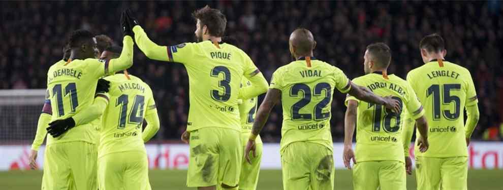 Si uno entra, otro sale. El Barcelona ha acelerado en la última semana una operación doble: la llegada de De Jong y De Ligt, ambos del Ajax.  La idea de los azulgrana es pagar 120 millones por la pareja, 20 'kilos' menos