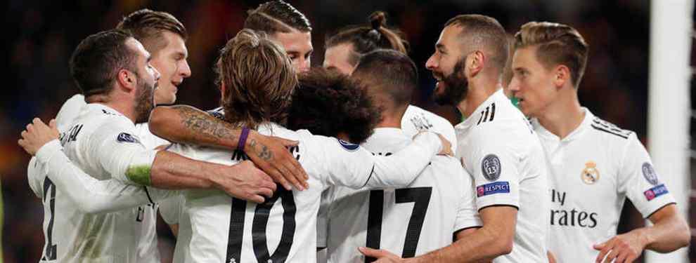 Florentino fija el precio de venta de Asensio, Isco, Benzema, Bale y Modric (y hay sorpresa)