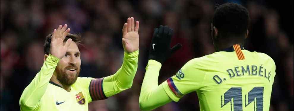 Messi, Coutinho y Piqué alucinan: Dembélé tiene una oferta (y escandalosa)