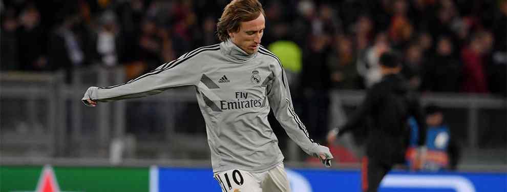 Florentino Pérez no se detiene. El presidente del Real Madrid no quiere sorpresas y ya busca un relevo para Luka Modric, jugador que ha hecho público su deseo de cambiar de aires.