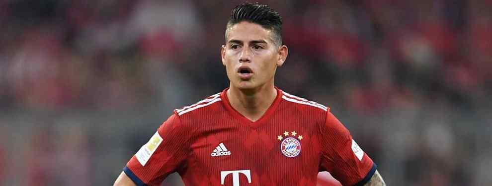 James Rodríguez tiene nuevo equipo: el Bayern de Múnich da luz verde a su salida (y hay sorpresa)