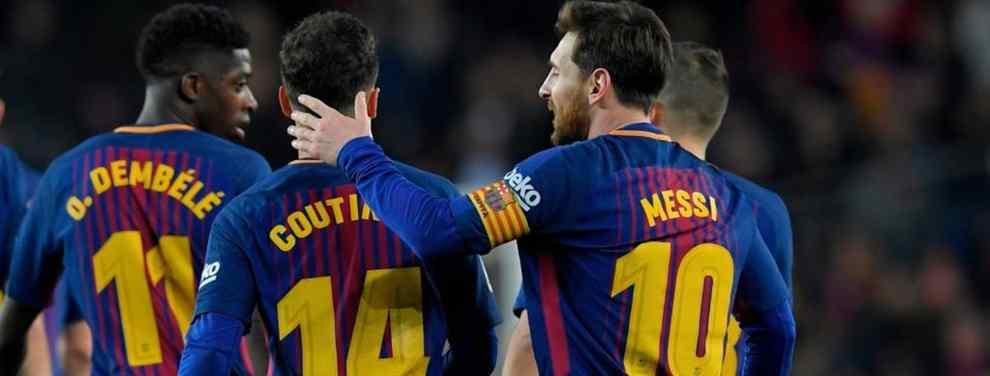 Lo que se notó en el Camp Nou fue la falta de gol cuando Luis Suárez no está y Messi no está fino. Dembelé tiene poco gol y Phillipe Coutinho demostró que no está en forma.