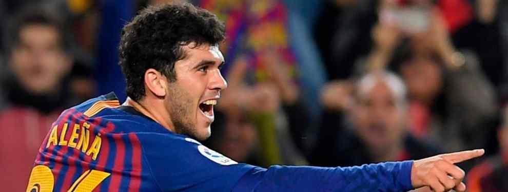 Carles Aleñá comienza a asomar la cabeza. El de Mataró, considerado desde hace varias temporadas como la gran promesa de La Masía, no ha llegado nunca a adaptarse al primer equipo.