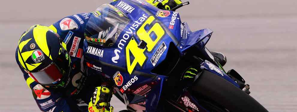 Valentino Rossi le pone al mal tiempo buena cara. El que ha sido el 'coach' del piloto italiano esta temporada, Luca Cadalora, abandona a Rossi.