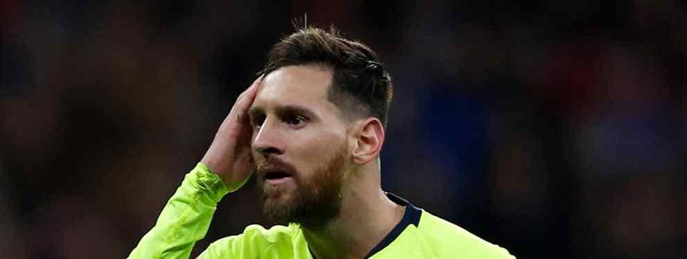 Bombazo: el Barça tiene un tapado para reforzar la defensa (y Messi no se lo cree)