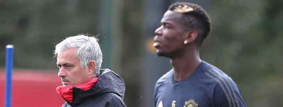 ¿Te has enterado? La última guerra entre Mourinho y Pogba que avergüenza al Manchester United