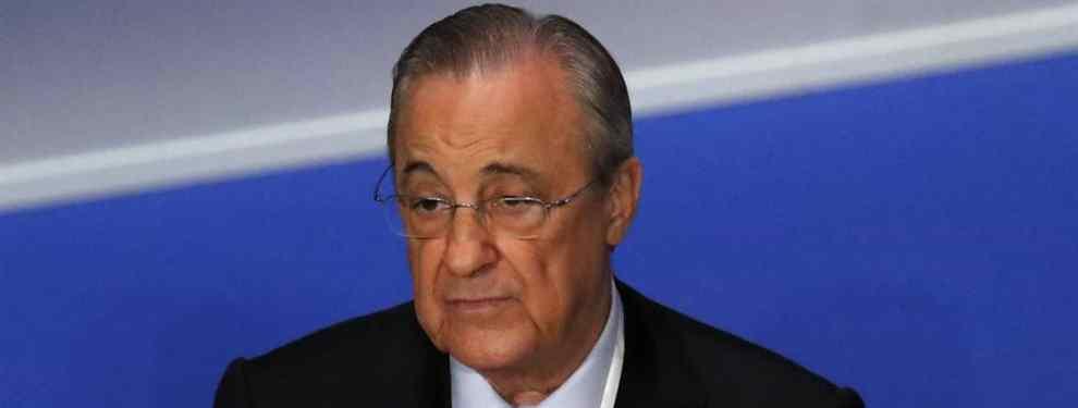 Llueven las ofertas: Florentino Pérez recibe la llamada de cinco clubes por un crack del Real Madrid