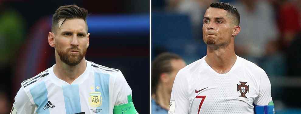 Messi y Cristiano volverán a coincidir. Meses más tarde se volverán a ver las caras en el Santiago Bernabéu, pero esta vez no será sobre el terreno de juego donde tantos espectáculos brindaron.