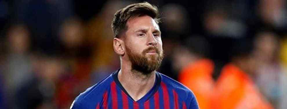 Brutal ataque a Messi: una estrella dispara con bala al capitán del Barça