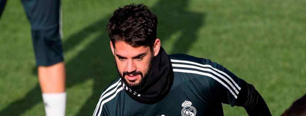 Bombazo Isco: la negociación secreta a espaldas del Real Madrid