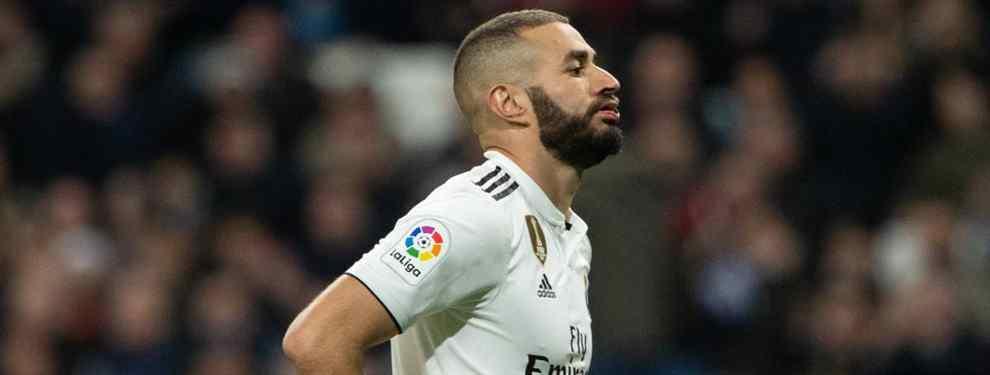 Karim Benzema tiene fecha de caducidad. Florentino Pérez no aguanta ni un minuto más con el francés en la delantera y busca un goleador para acabar con los problemas del Real Madrid.
