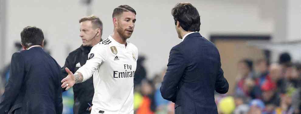 Disciplina. Santiago Solari, con la ayuda de Sergio Ramos, no pasa una en este nuevo Real Madrid.  El último acto de indisciplina lo firma Mariano y podría terminar en una multa severa del club.