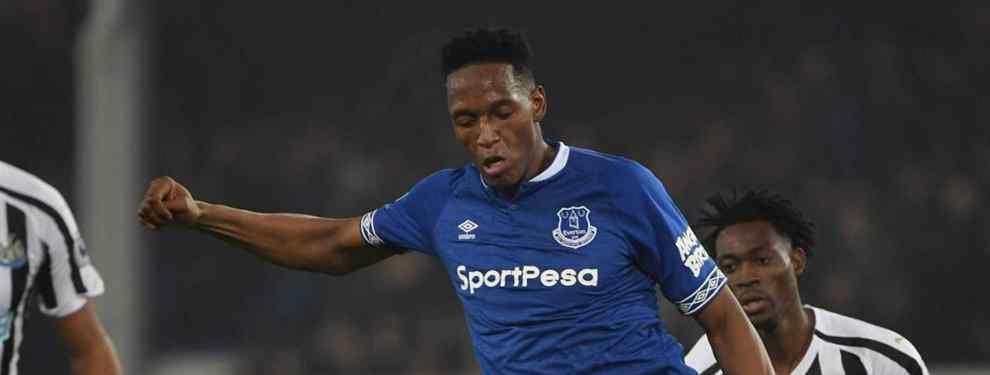 Acusan a Yerry Mina: el lío con el colombiano que sacude el vestuario del Everton