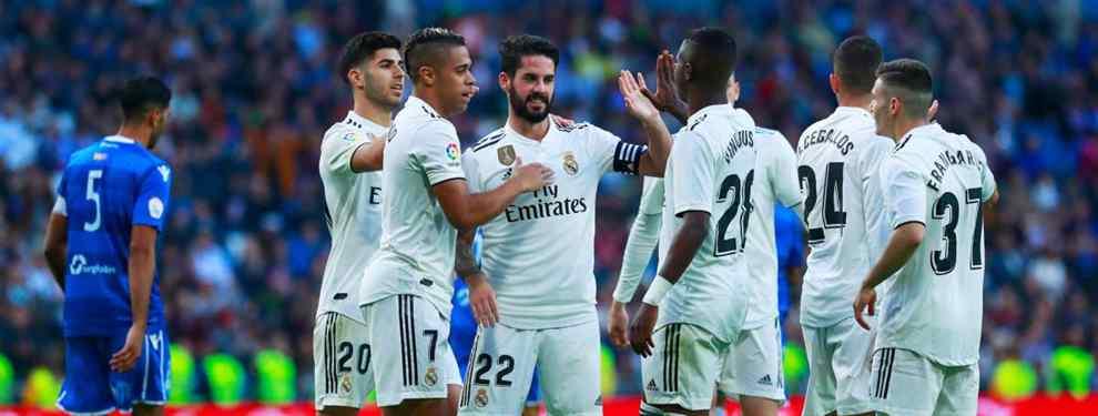 Caliente. El Real Madrid intensifica las conversaciones para apuntalar la línea de ataque con un pata negra.  Karim Benzema será traspaso del próximo verano y el club apunta dos fichajes para la posición de '9'.