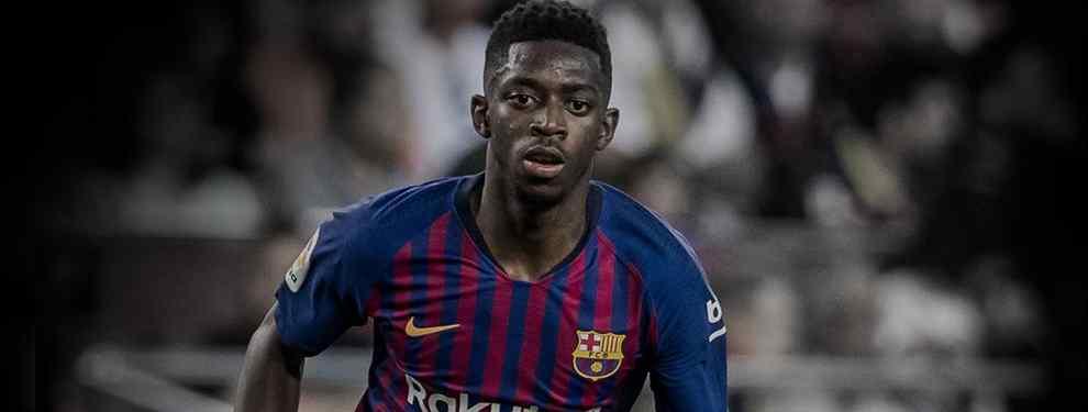 El galáctico sorpresa en el Barça para cargarse a Dembélé es la bomba más bestia del año