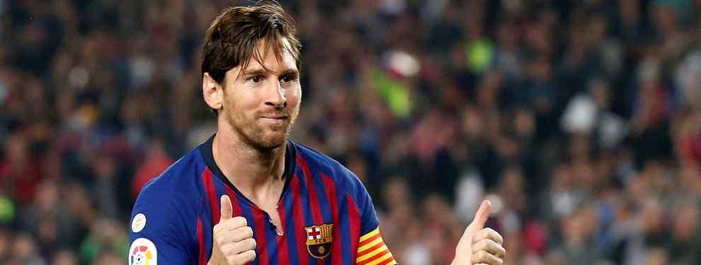 No traga a Messi (y no se esconde): quieres largarse del Barça (y rapidito)
