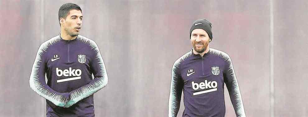 Escándalo Luis Suárez: Messi lo tapa (pero el lío en el Barça es brutal)