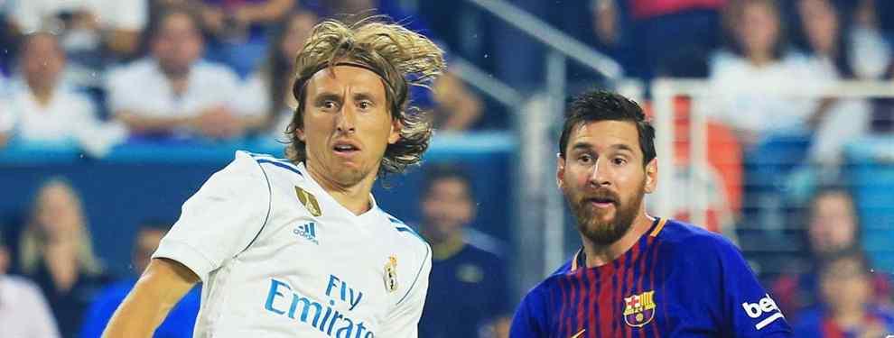 El fichaje español que Messi ha pedido para el Barça 2019-2020 (Modric lo quiere en el Madrid)