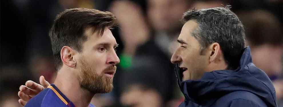 El crack que Messi pide a Valverde para enero (el Barça puede estar cometiendo un fallo histórico)