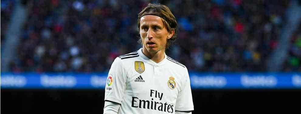 Modric quiere ayudar a Florentino Pérez a colocar a uno de sus cracks (cambio de cromos a la vista)