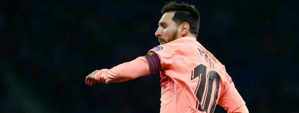 Leo Messi pone la quinta. El crack argentino, tras firmar un partido de escándalo ante el Espanyol, ya se prepara para un mercado, el invernal, donde espera poder cerrar algún que otro fichaje.