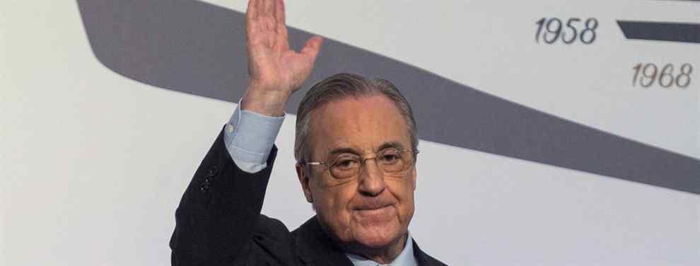 Florentino Pérez tiene un regalo para Solari en el Real Madrid (y es en forma de fichaje galáctico)