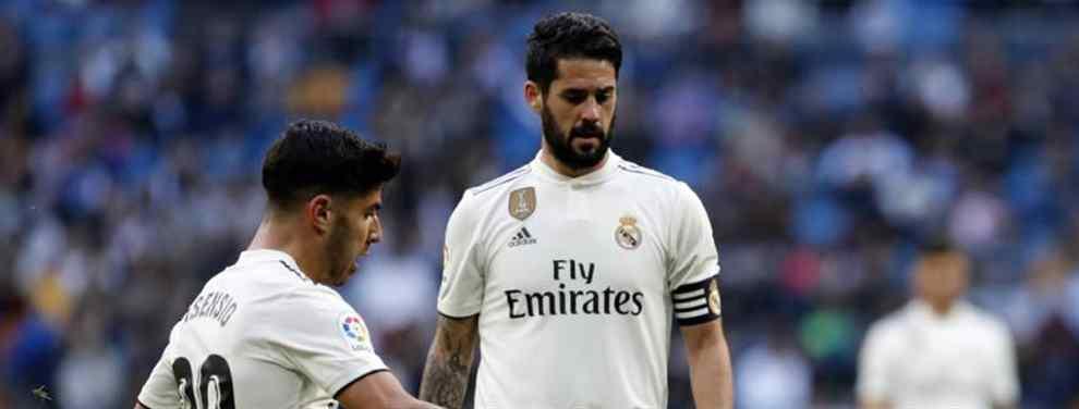 Lío de celos en el Real Madrid: la última puñalada de Isco (y Marco Asensio). Y no es a Solari